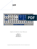 Alpha Manual 330