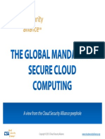 The Global Mandate to Secure Cloud Computing