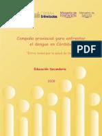 Campaña provincial para enfrentar el dengue en Córdoba Nivel Secundario