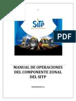 00 Manual de Operaciones Sitp (Zonal) v11 Obs Seguridad (1)