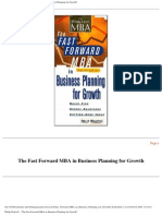 FF MBA - Business Planning