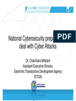 National Cybersecurity Preparation to deal with Cyber Attacks