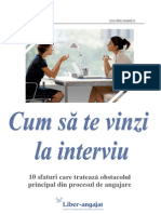 Cum Sa Te Vinzi La Interviu