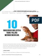 10 Makanan Paling Menggemukkan Malaysia. _ KevinZahri