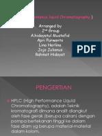 HPLC (High Perfomance Chromatography )
