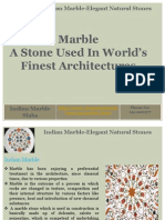Indian Marble-Elegant Natural Stones