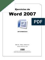 Ejercicios Word 2007 - Intermedio