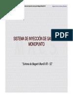 Presentacion Inyeccion Monopunto MM G5