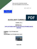 Exploatarea Instalatiilor Electromecanice Navale