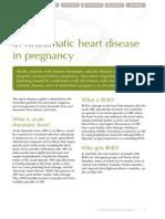 Penyakit  Jantung Rematik pada Kehamilan