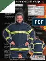 Intervencijsko Odijelo Fire Breaker Airlock Brosura