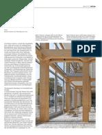 Siebengeschossiges Bürogebäude aus Holz in Zürich