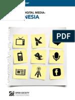 Indonesia - Mapping Digital Media