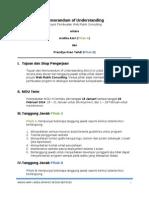 MoU Web Development
