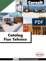 Catalog Fise Tehnice Ceresit
