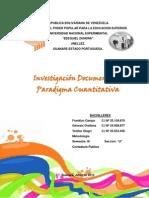 Investigación Documental y Paradigma Cuantitativa