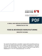 Dubai Sme_food and Beverages Manufacturing Report