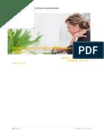 SRM PCF Workflow