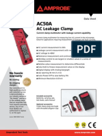 AC50A - Leakage Clamp