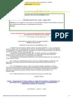Port 368 de 1997 - Aprova RT de PPHO e BPF Para Industria de Alimentos - Aa