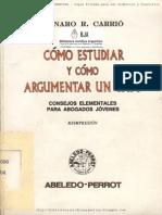 49602889 Como Estudiar y Argumentar Un Caso