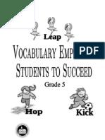 Vocab Words Definitions