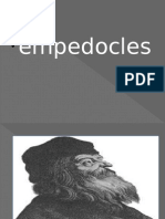empedocles....
