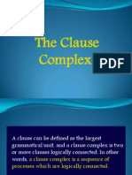 1 Clause Complexes Vivi