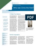 finale 2 lee cliff newsletter cinna the poet