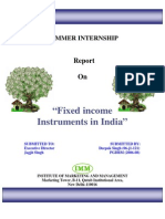 FIXED INCOME INSTRUMENTS IN INDIA