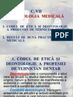 c. 7 Deontologia Medicală