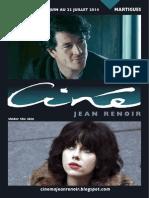Renoir Programme Juin 2014