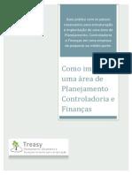 E-book - Como Implantar Uma Area de Planejamento Controladoria e Financas - Parte 01