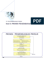 Proses Pengembangan produk
