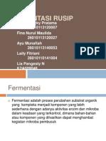 FERMENTASI RUSIP(DDTHP)