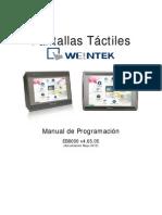 Manual Progr. EB8000 v4.65.05