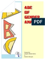 ABC of Genderanalysis