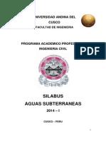 00 Silabo Aguas Subterraneas 2014-I Carlos Luna