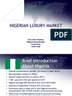 Nigerian Luxury Market