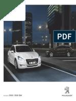 Peugeot 508 Range Brochure
