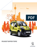 Peugeot Bipper Tepee Range Brochure