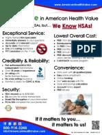 Flyer Consumer AHV Value