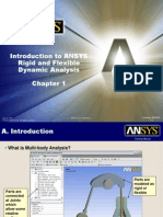 Introduction to ANSYS Rigid and Flexible Dynamic Analysis