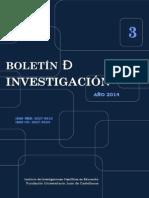 Boletin 3- 2014