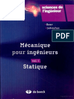 Mécanique Pour Ingénieurs Vol1