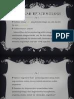 epistemologi