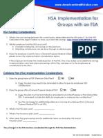 HSAs for FSA Groups