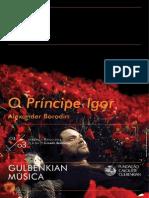 O Príncipe Igor - Gulbenkian Música