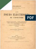 J.Escard - Les Fours électriques de Laboratoire