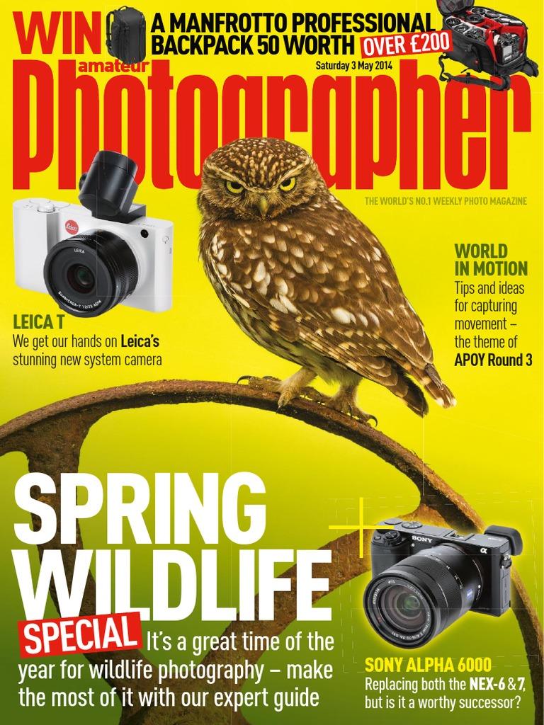 Amateur Photographer 3 May 2014 Digital Single Lens Reflex Camera Lee Filters Sw150 Twilight Soft Grad Autofocus